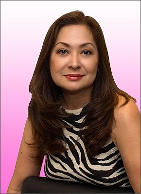 MS. AURORA SALVE (photo courtesy :AsianJournal)