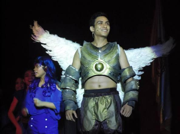 Alvin Duckert as Angel Michael