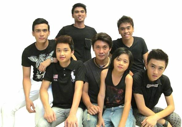 The young men of Batch 2013 with director Roeder Camañag