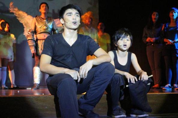 Macson Anthony Macaraig as Kahlim and Jonas Ponio as Miguelito