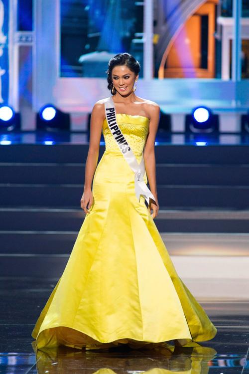 ARIELLA's Gown Na Dilaw