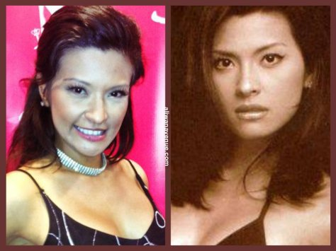 ANJANETTE ABAYARI, Now & Then...