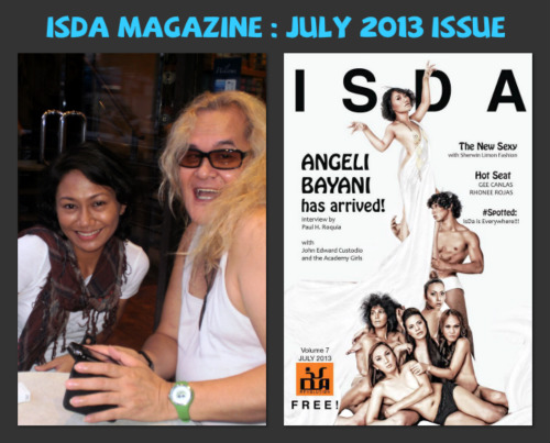 My sweet time with Angeli for ISDA MAG...