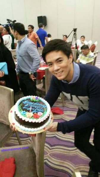 A MerNel's Cake Travels From Los Baños To Greet LANCE RAYMUNDO On His Birthday And Thanksgiving Celebration!
